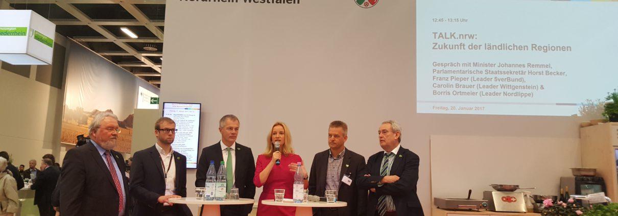 Unsere Region Wittgenstein auf der Grünen Woche 2017