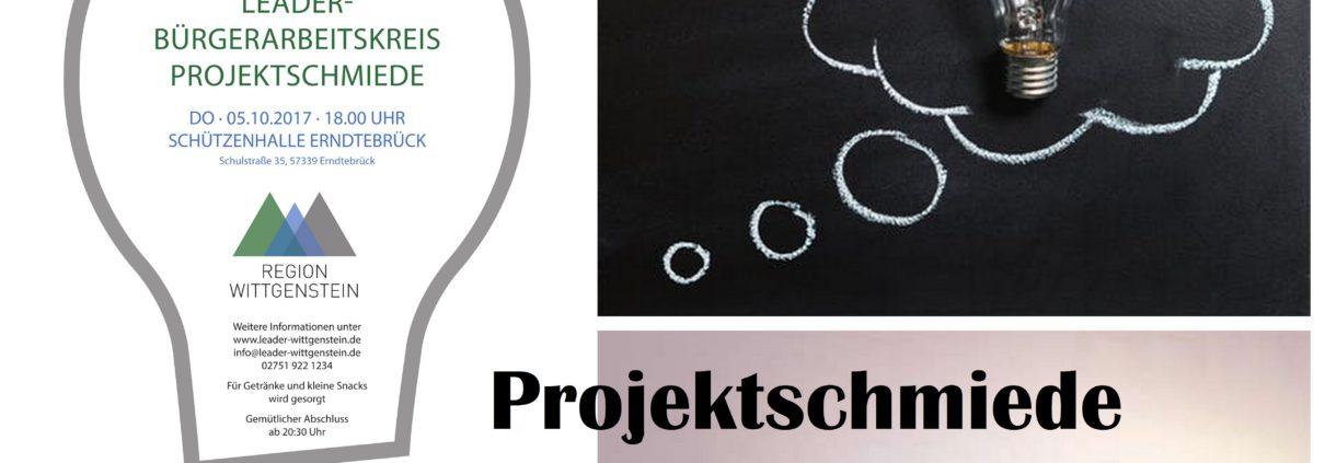 Bürgerarbeitskreis Projektschmiede - neue Ideen für Wittgenstein