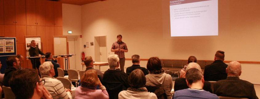 Projektvorstellungen, LAG-Sitzung und Mitgliederversammlung
