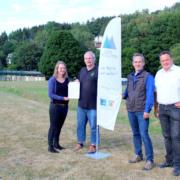 Beachsport in Bad Laasphe – knapp 90.000 € Förderung für das Multifunktionsfeld am Wabach Stadion