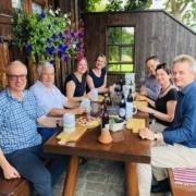 Mit der LEADER-Region Oberallgäu im Austausch