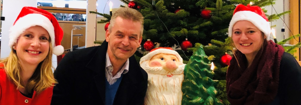 Fröhliche Weihnachten und einen guten Start ins neue Jahr