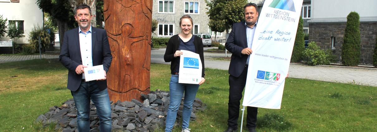 Neue Personalstelle der Stadt Bad Berleburg durch LEADER-Förderung